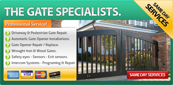Gate Repair Placentia CA